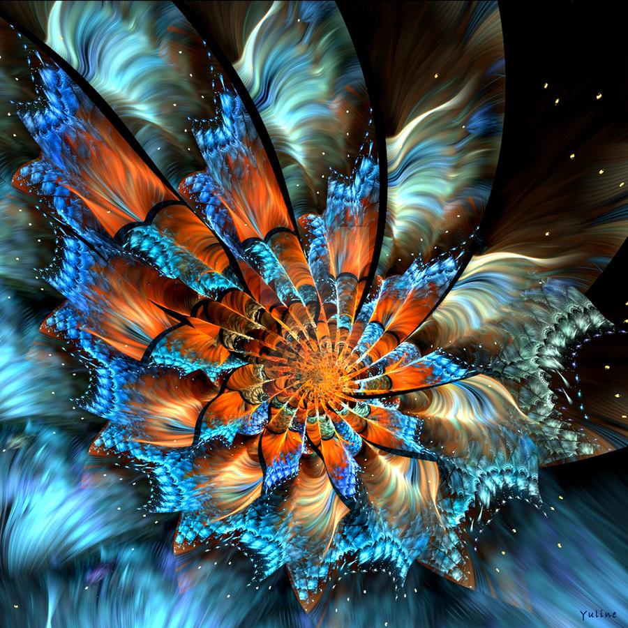 Fairy Flower V by Yuline