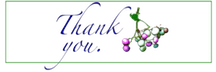 Thank you grape by marshwood