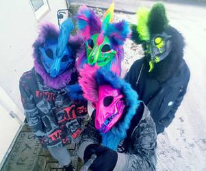 The Skull Squad by Egylon