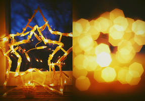 Christmas Lights by BlueColoursOfNature