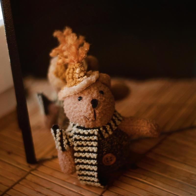 Teddy bear by BlueColoursOfNature