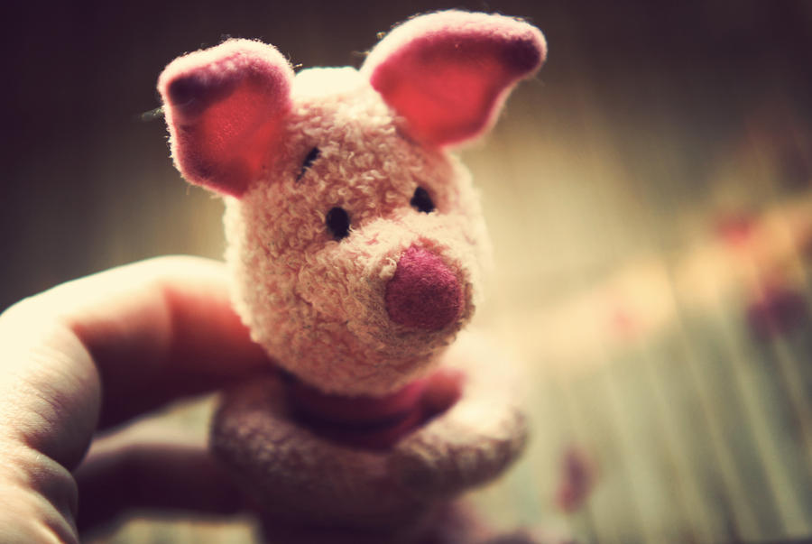 piglet by BlueColoursOfNature