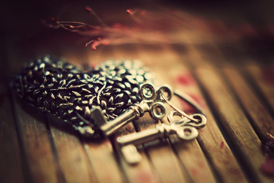 Keys to my heart by BlueColoursOfNature