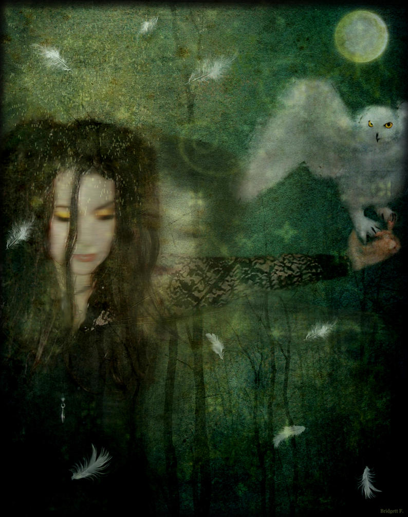 The Owl Goddess(for Heather) By PlasmaTwin On DeviantArt