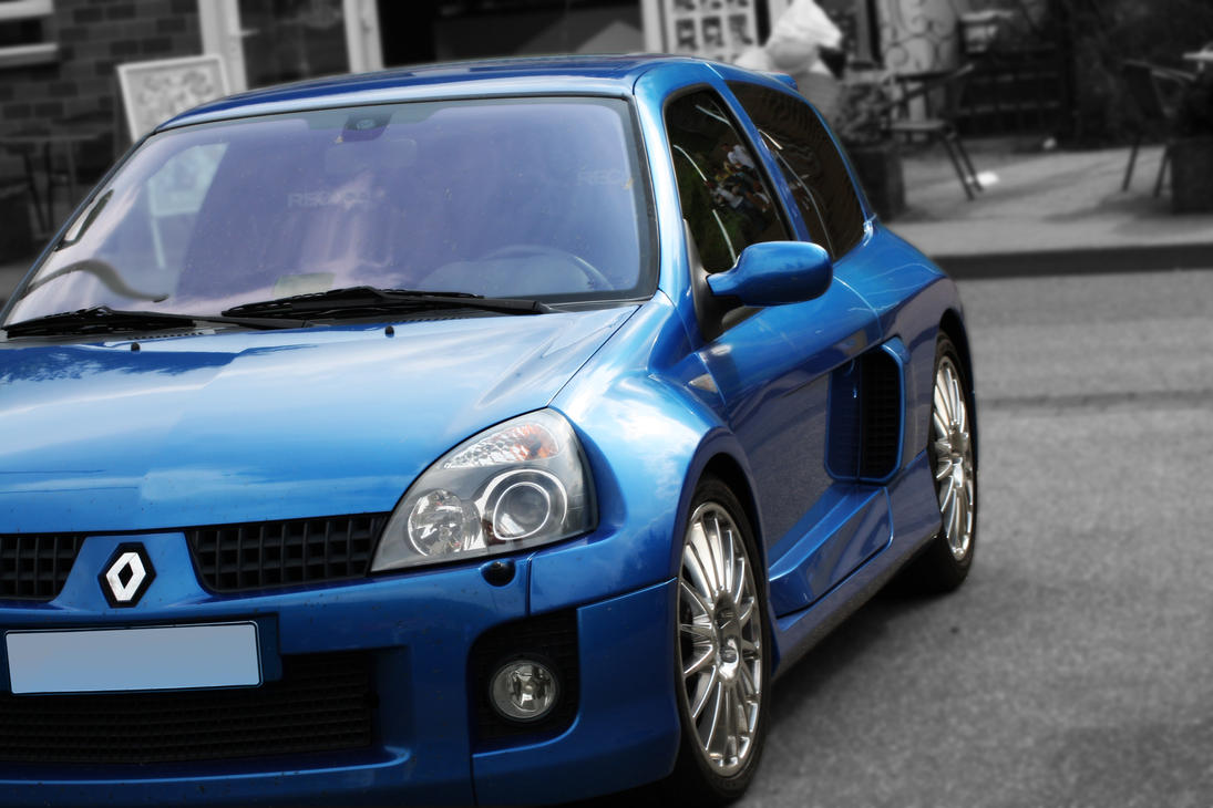 renault clio sport v6 by benstyle on deviantart. Black Bedroom Furniture Sets. Home Design Ideas