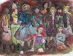 Disney Princesses: Zombie Slayers