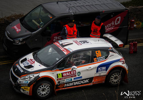 N Solans Wales Rally GB