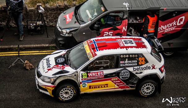 Eyvind Brynildsen Wales Rally GB - 2