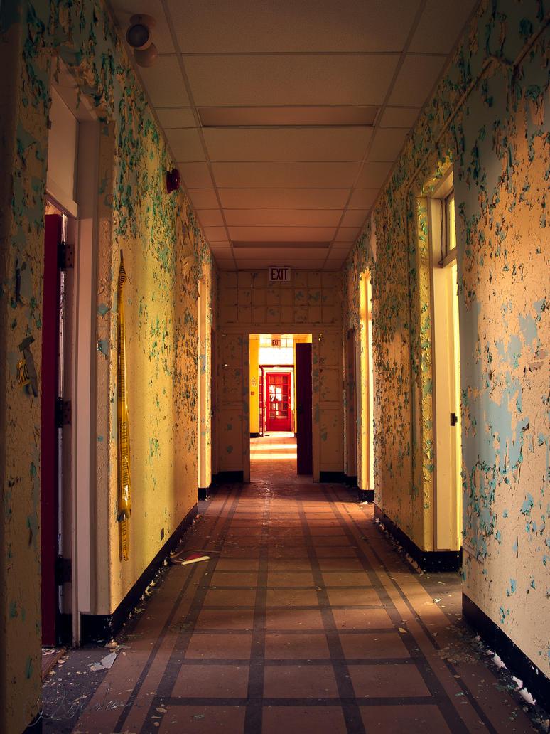 Flaked Hallway by sokolovic1987