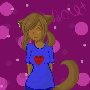 Violet for Sonikku by skietheeevee