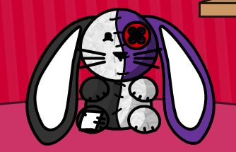 Patches The Rabbit by ElfyGirlRules