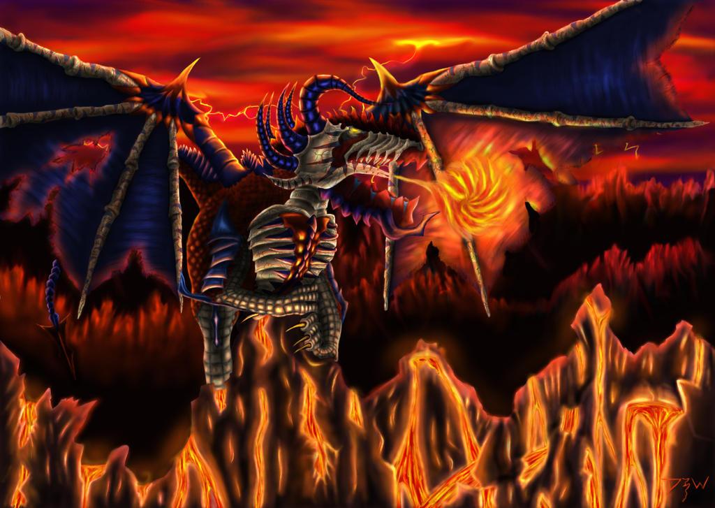 Bleeding Dragon by Wicher91
