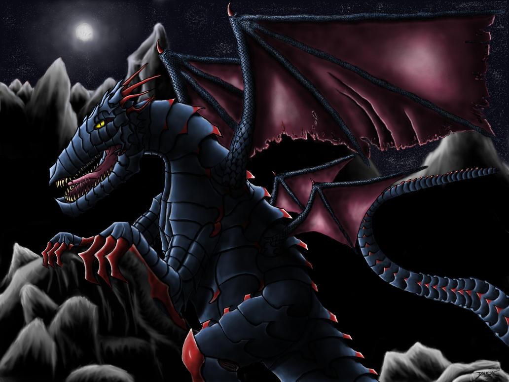 First digital Dragon by Wicher91