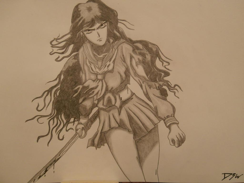 saya kisaragi by Wicher91