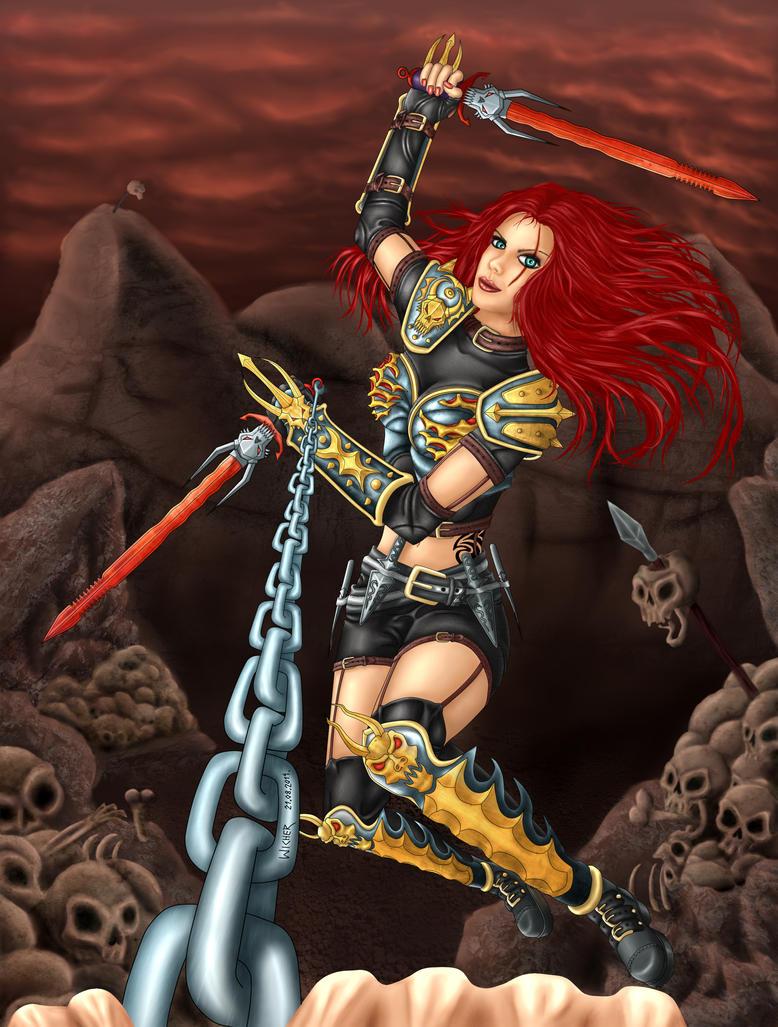 Aggressive Katarina by Wicher91