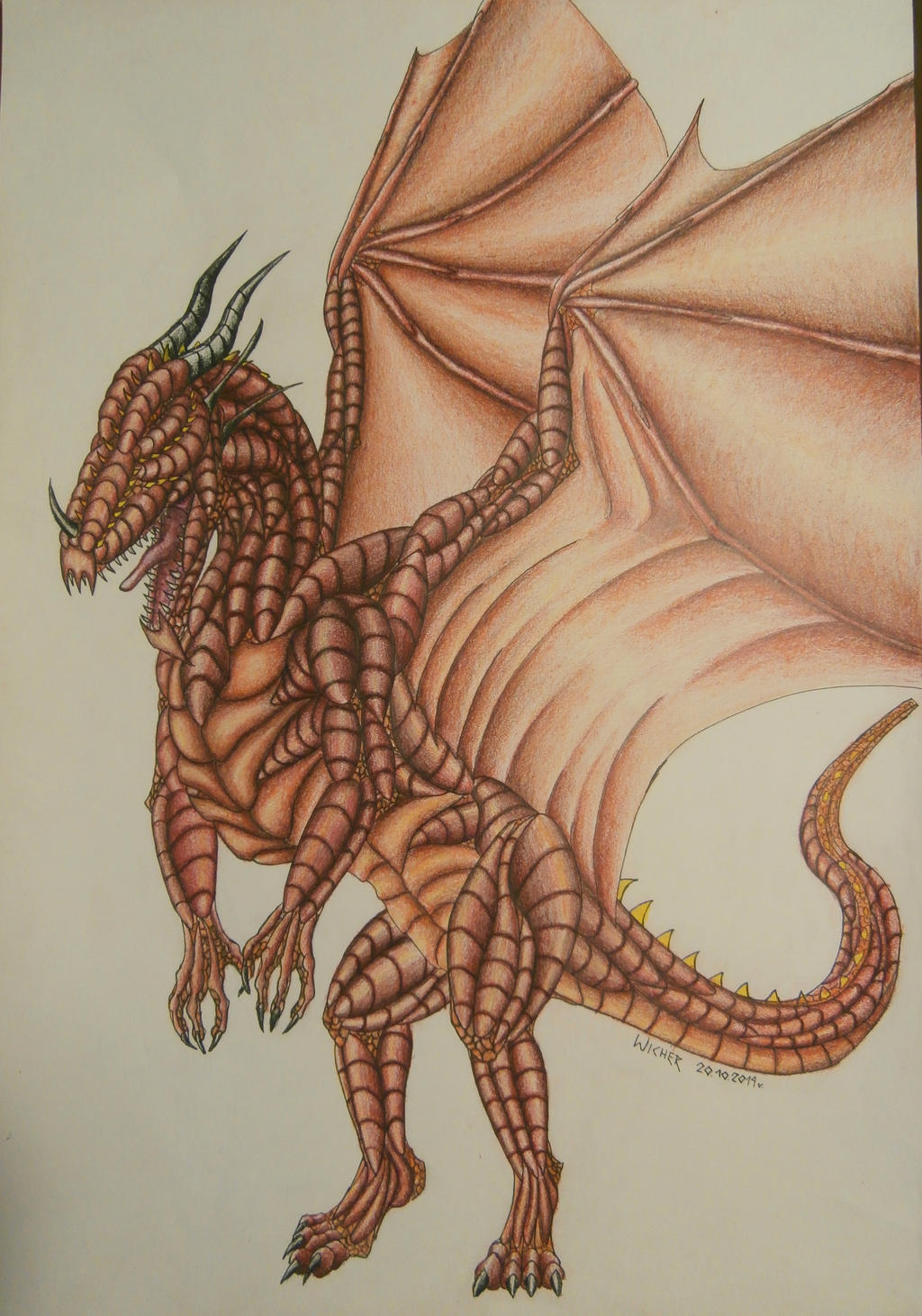 Red Dragon by Wicher91