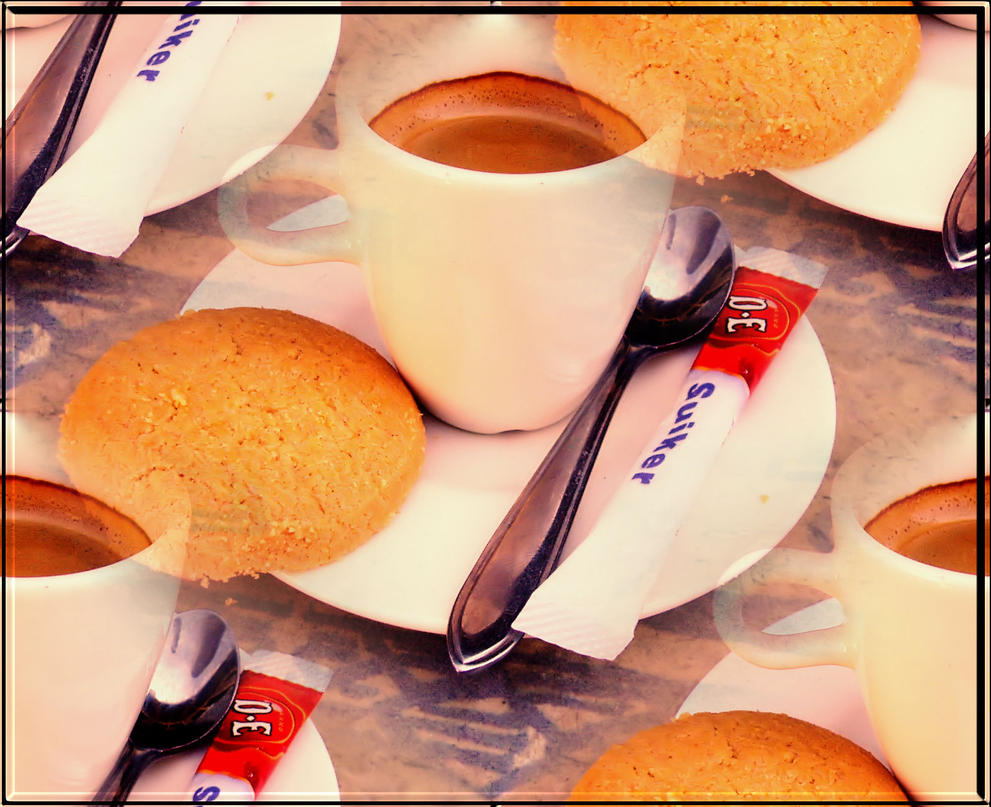 Coffe and Cookie by KafeinKahveRengisi
