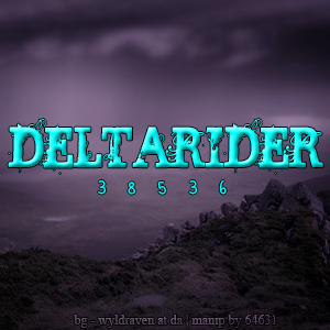 DeltaRiderAva by frisbee-horseland