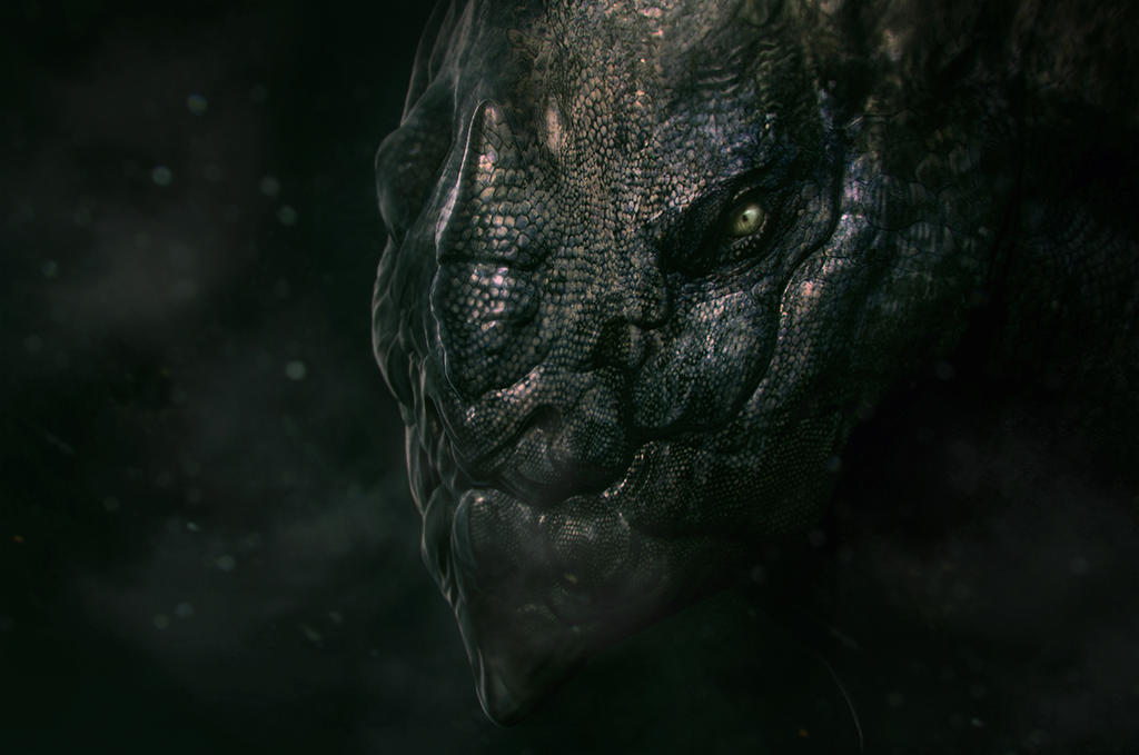 Lizard Creature by x-ste-x