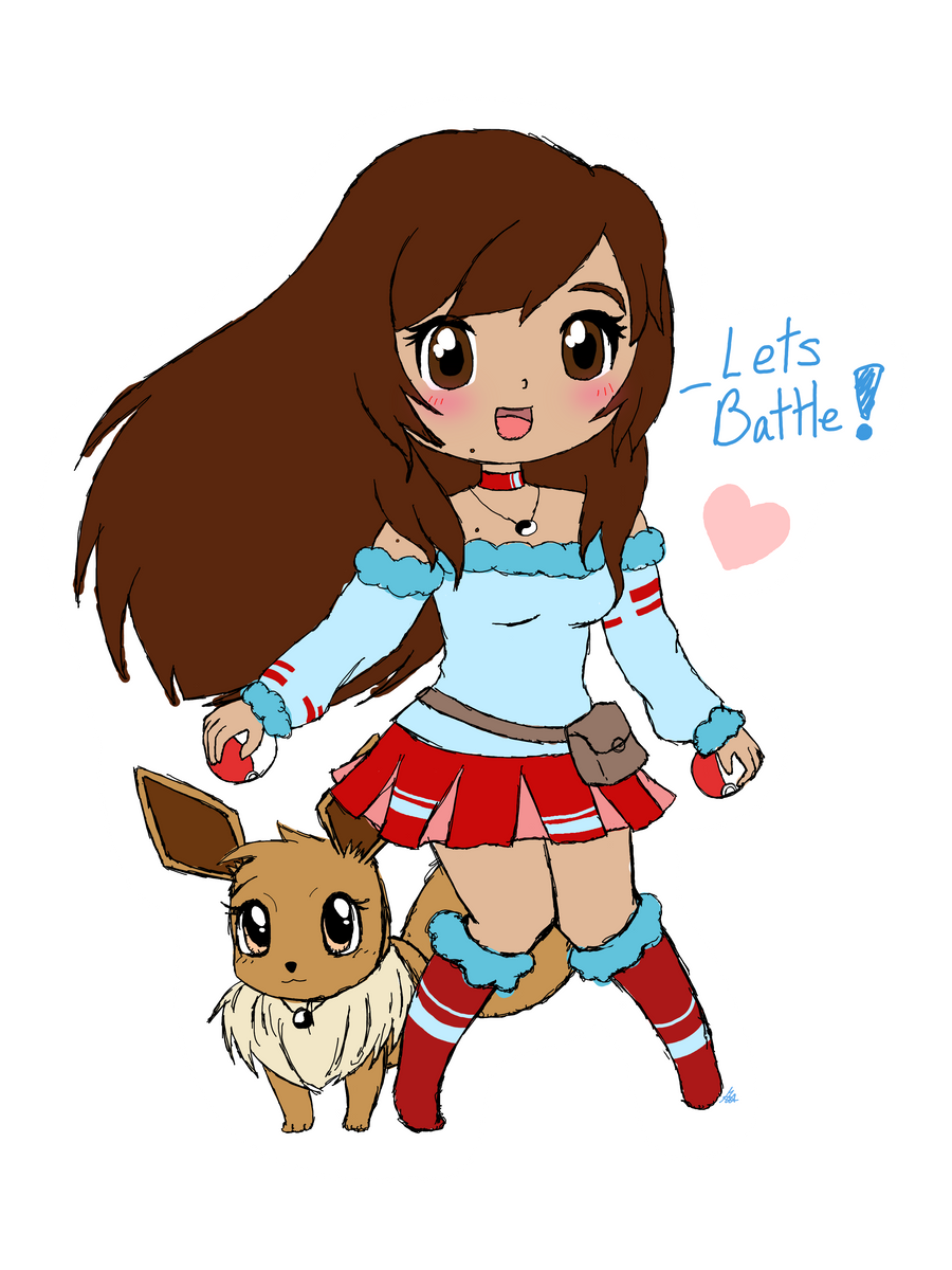 Pokemon Trainer Me~ by TropicalSnowflake