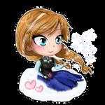 Frozen- Anna chibi
