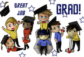 Star Trek Graduation Card by ShindouHikaru