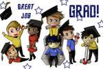 Star Trek Graduation Card