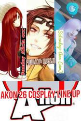 Akon 26 cosplay line up