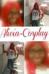 Alicia cosplay (OCC)