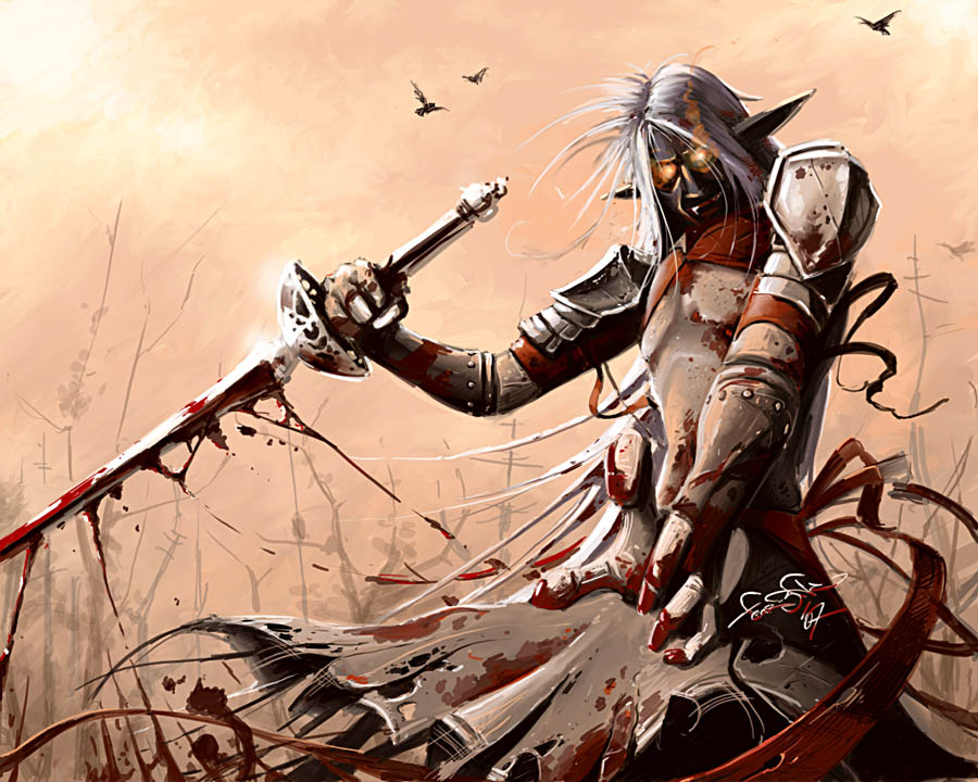 Bloody Sands - Lineage II by fear-sAs