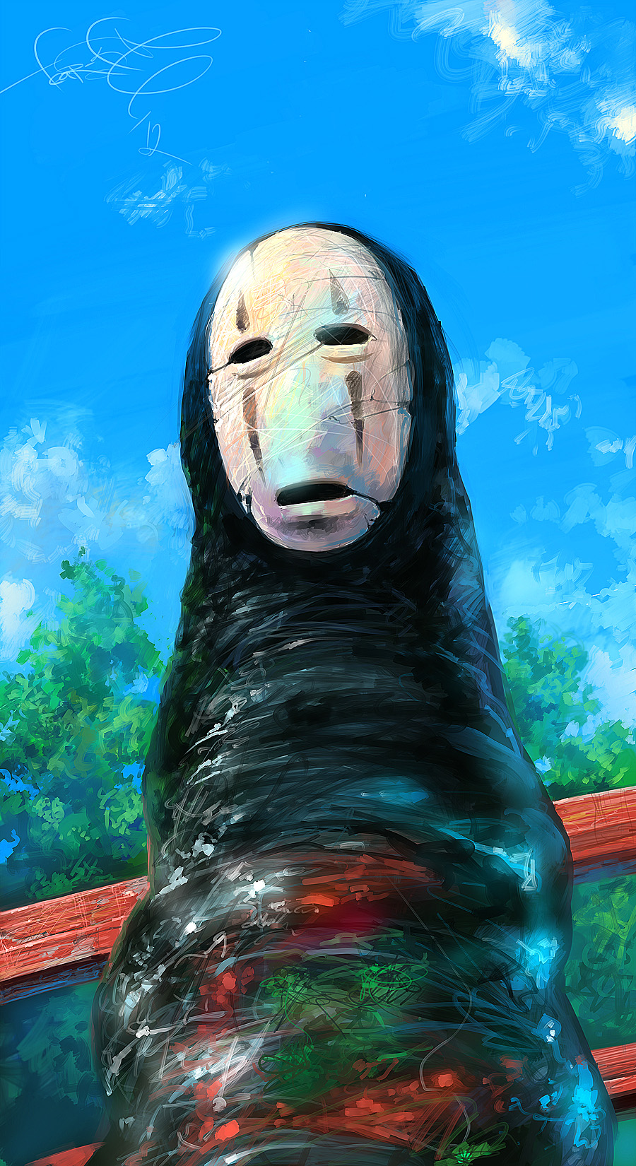 Spirited Away Fan Art By Fear Sas On Deviantart