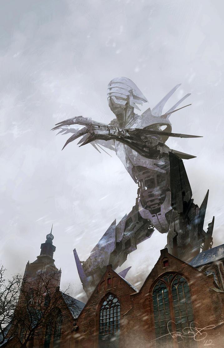 Village guardian by fear-sAs