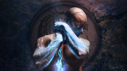 SUB-ZERO Mortal Kombat art by fear-sAs