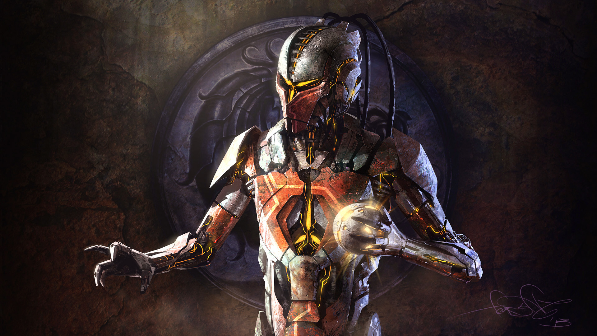Sektor - Mortal Kombat art by fear-sAs