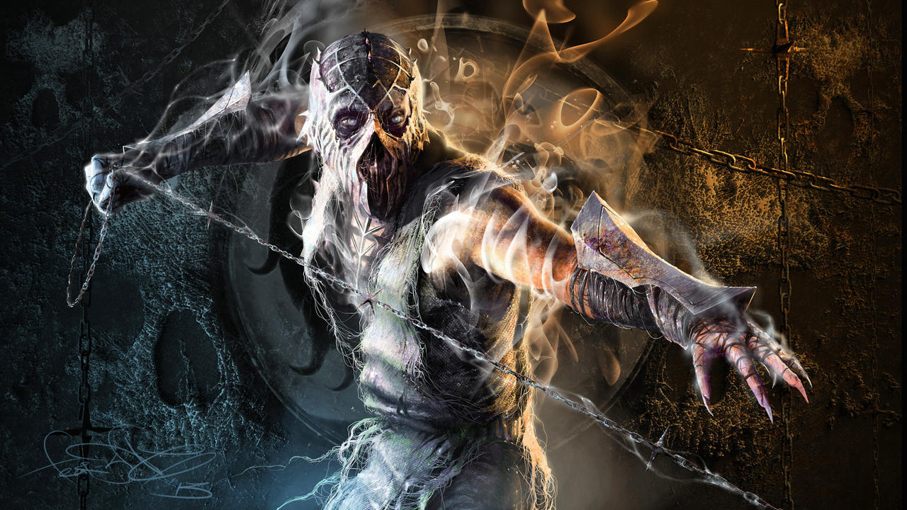 Smoke - Mortal Kombat fan art by fear-sAs