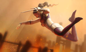 Mileena - Mortal Kombat art