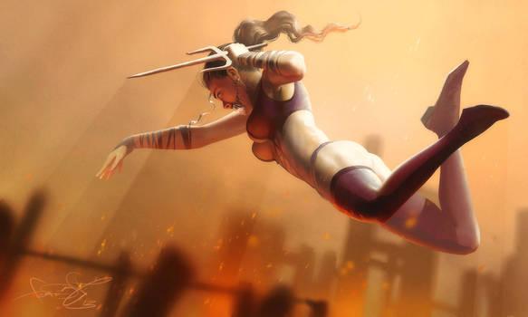 Mileena - Mortal Kombat art by fear-sAs