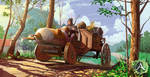 Archeage tractor by fear-sAs