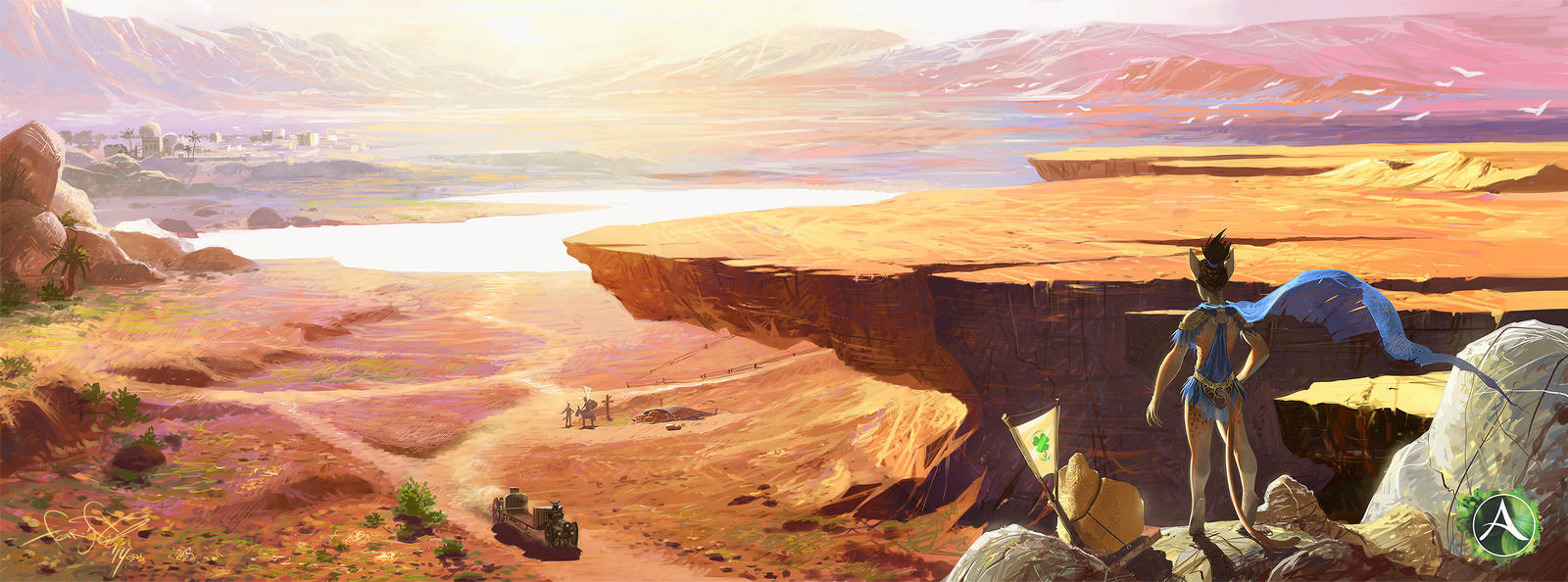 Archeage Rainbow Field by fear-sAs