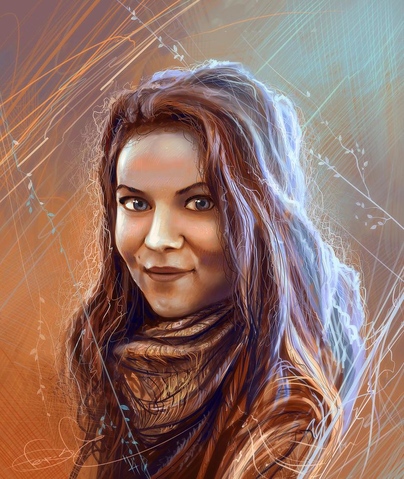 Portrait by fear-sAs