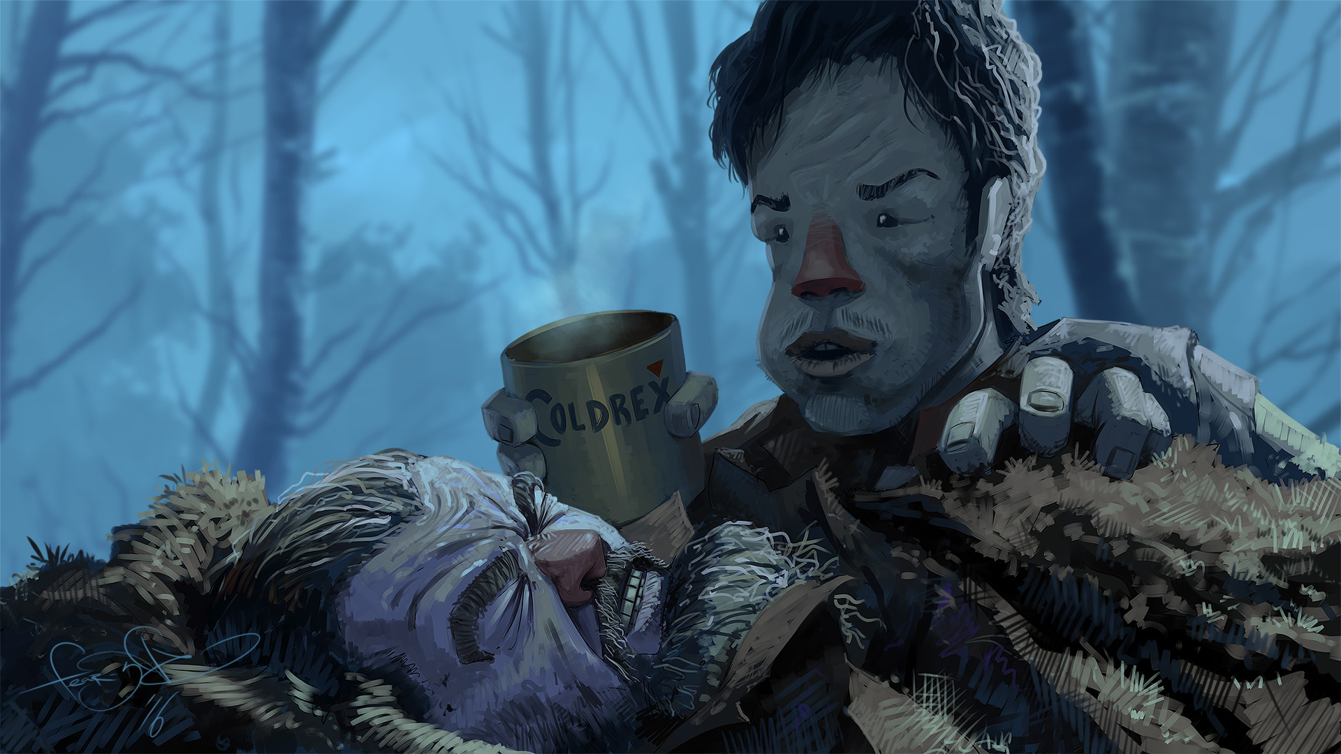 The Revenant - CARE by fear-sAs