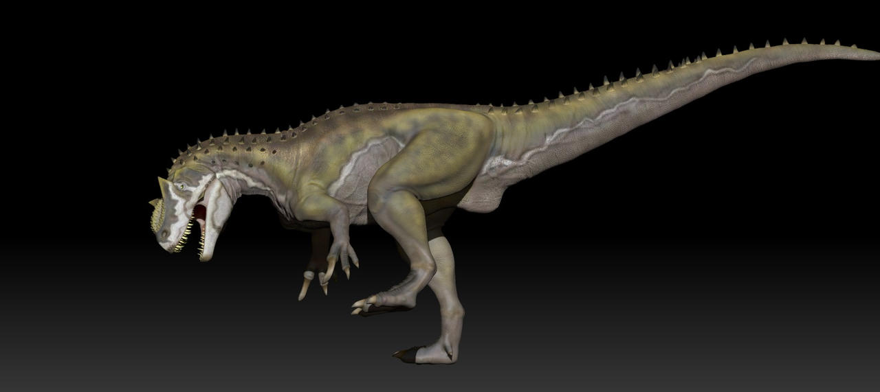 Allosaurus by Manuelsaurus Zbrush Allosaurus