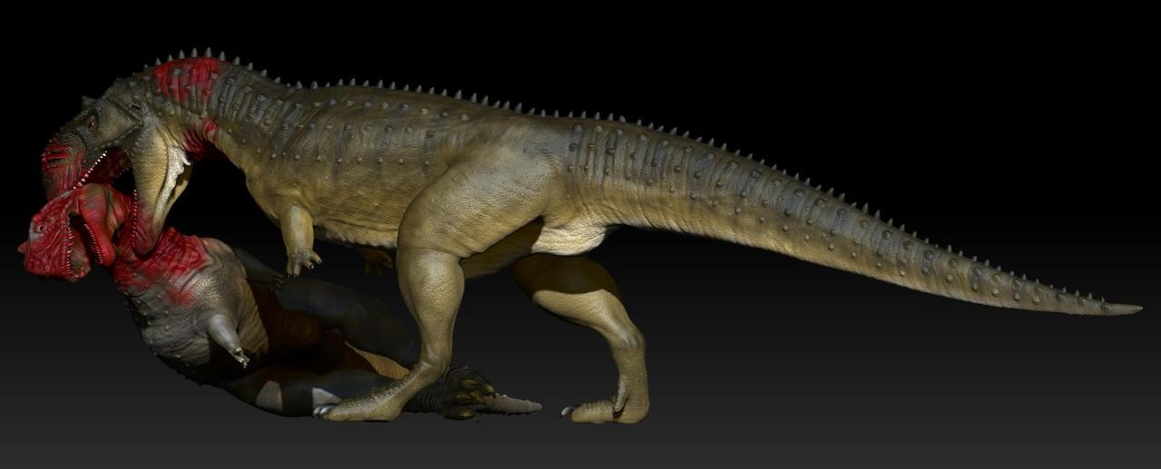 kanibal Dinosaurus Majungasaurus