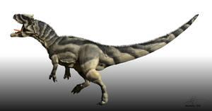 Saurophaganax by Manuelsaurus