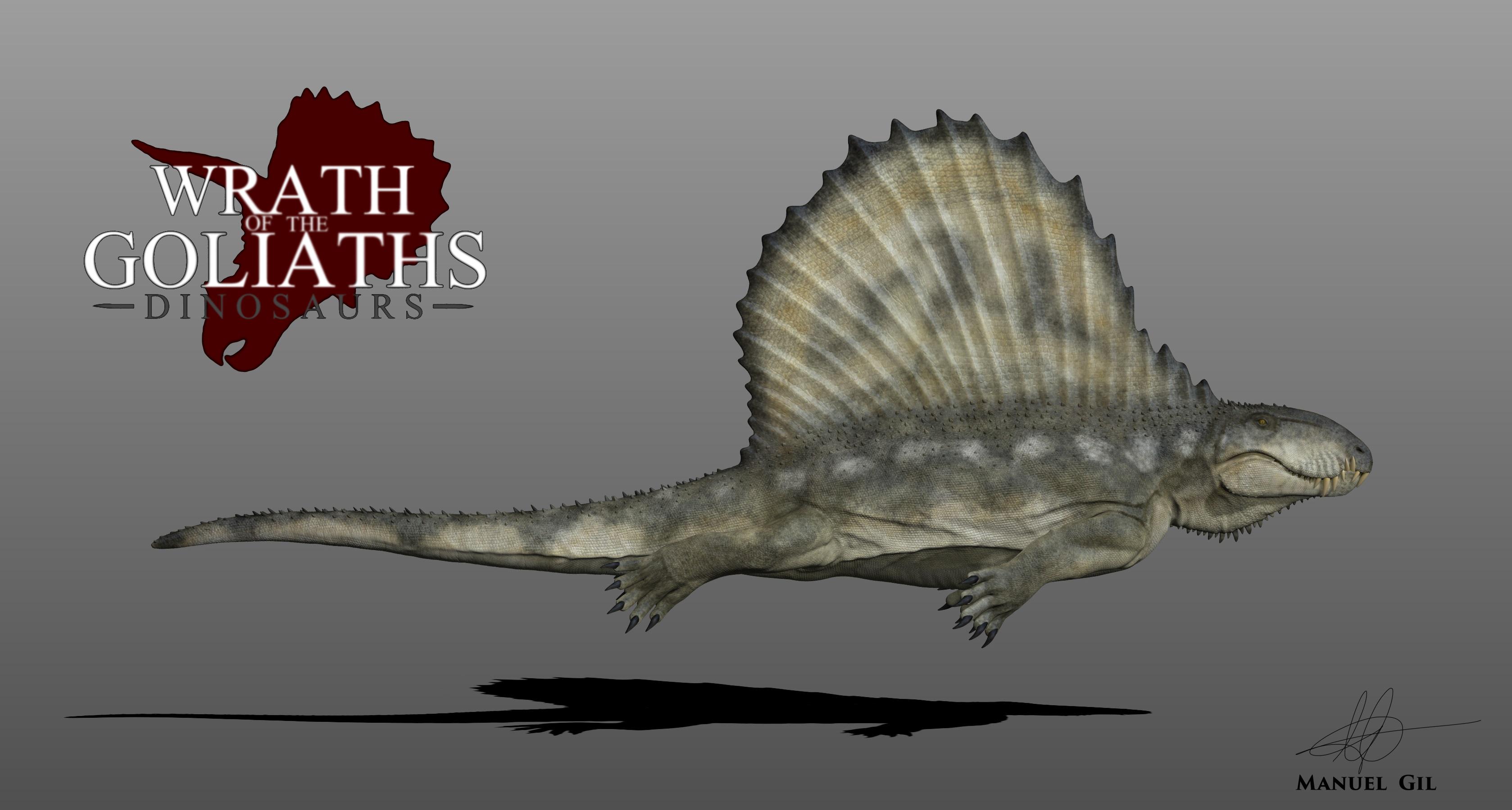 Dimetrodon by Manuelsaurus on DeviantArt