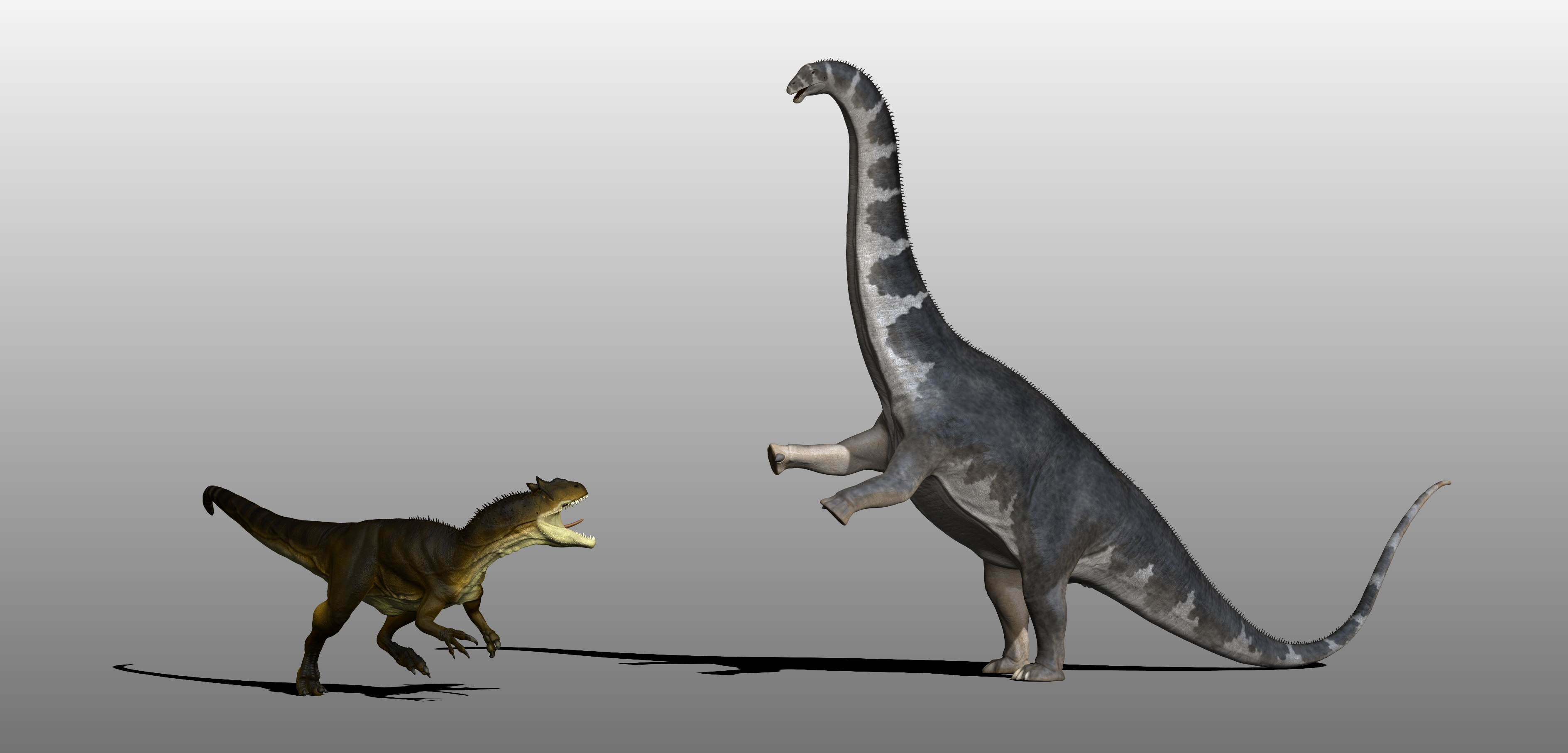 Allosaurus vs Apatosaurus by Manuelsaurus on DeviantArt