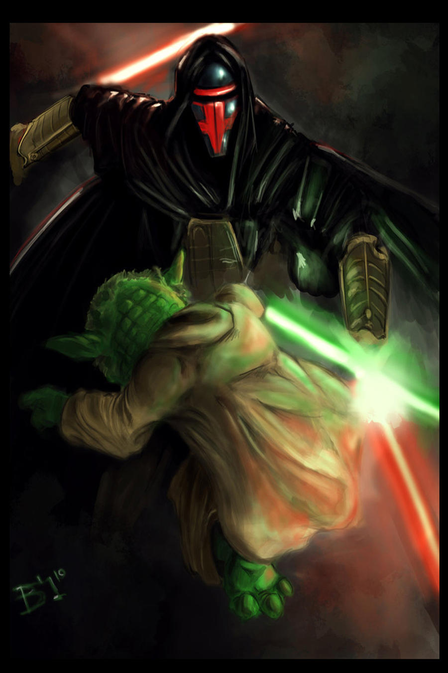 master yoda vs darth - photo #1