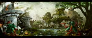 frog bog lords homeland by Baldraven