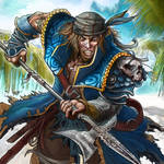 pirate Helbard by Baldraven