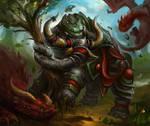 Armored War Beast